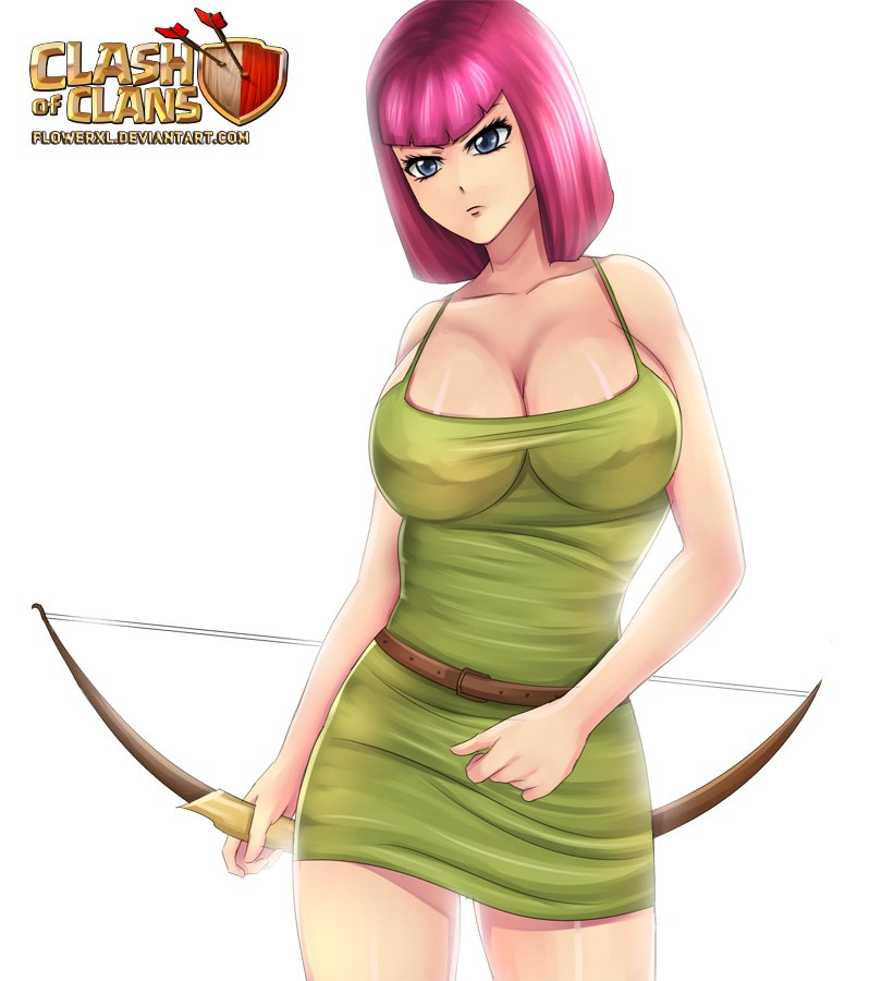 of queen clash clans barbarian Belly full of cum hentai