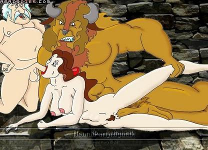 belle beauty nude beast the and Shadow the hedgehog sonic and the black knight