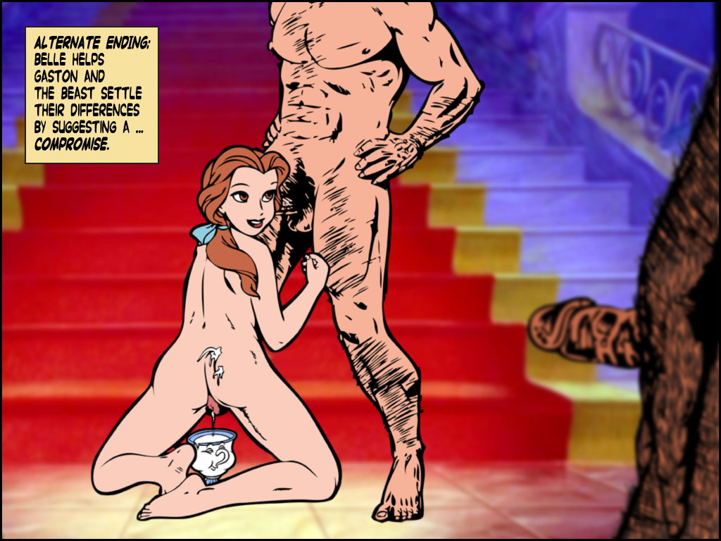 naked and the beauty belle beast Five nights at freddy's furry