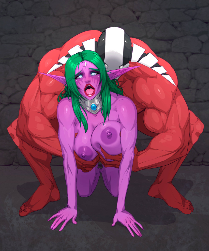 world warcraft hentai night elf of Riven of a thousand voices
