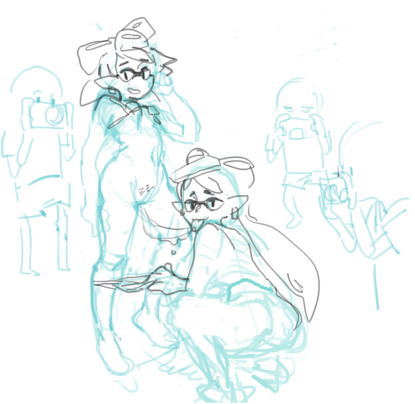 splatoon and marie hentai callie Who is the invisible girl in my hero academia