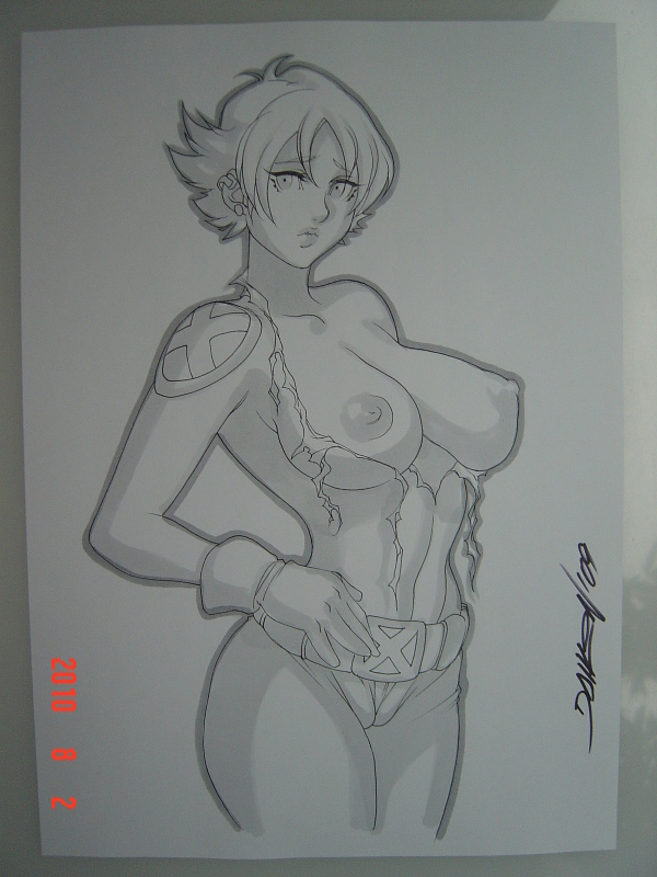boom x-men boom Naked pearl from steven universe
