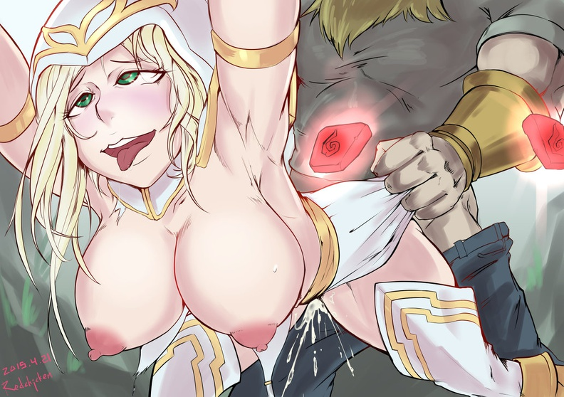 legends ashe project of league Clash of clans archer naked