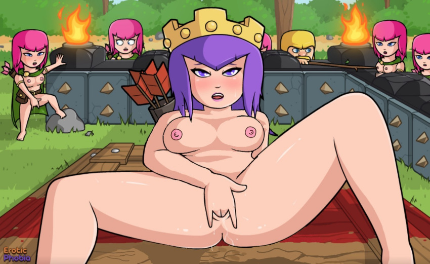 of sex clash clans witch Arthur and the invisibles